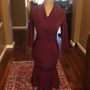 Venus Ruched Dress Size S